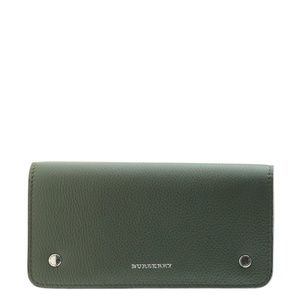Burberry Continental Pull Out Sage Wallet 165888